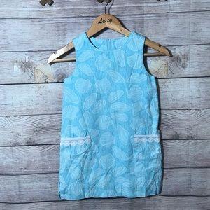 Lilly Pulitzer mini girls seashells Shift Dress